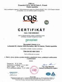 Novoplast - ISO 9001