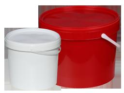 Plasty kbelíky.